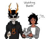 bambi crying dammek disney homestuck_adventure_game joey_claire venidel