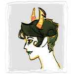 alternate_hair carboncatharsis headshot kanaya_maryam profile rainbow_drinker solo