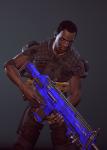 3d crossover gun humanized petrosyanengeniy sollux_captor solo xcom