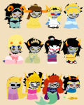 aladdin alice_in_wonderland alternians aradia_megido beauty_and_the_beast cinderella crossdressing crossover disney equius_zahhak eridan_ampora feferi_peixes gamzee_makara image_manipulation kanaya_maryam karkat_vantas marisuga merfolk mulan nepeta_leijon pocahontas sleeping_beauty snow_white sollux_captor sprite_mode tangled tavros_nitram terezi_pyrope the_little_mermaid the_princess_and_the_frog vriska_serket wut