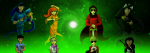 413 beta_kids breath_aspect caledfwlch dave_strider dogtier godtier heir jade_harley john_egbert knight light_aspect multiple_personas needlewands night-of-void rose_lalonde seer space_aspect starter_outfit thorns_of_oglogoth time_aspect unbreakable_katana warhammer_of_zillyhoo weapon witch