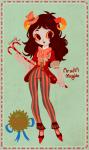 aradia_megido esmeralda38 fashion hat solo