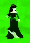 crossover disney jade_harley monochrome sleeping_beauty solo