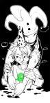 beagle_puss harlequin_doll hat highlight_color hug john_egbert qianshan solo starter_outfit