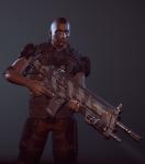 3d crossover gun humanized petrosyanengeniy solo tavros_nitram xcom