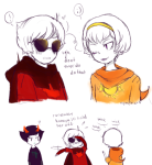 ! comic dave_strider godtier kanaya_maryam knight light_aspect nymphicus rose_lalonde seer time_aspect wonk