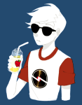 apple_juice dave_strider red_baseball_tee solo tls