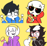 alcohol apple_juice beta_kids dave_strider dogtail dogtier food jade_harley john_egbert mandarin_orange nymphicus rose_lalonde
