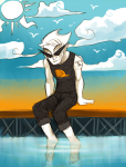 body_modification clouds dirk_strider miupoke ocean seagulls solo strong_tanktop