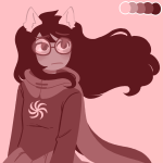 drawthiere jade_harley limited_palette solo space_aspect