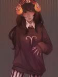 aradia_megido flower_crown pastel_goth sangcoon