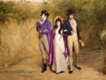 1s_th1s_you arm_in_arm au cane crossover eridan_ampora eriferi feferi_peixes fine_art image_manipulation multishipping queen_bee regencystuck saccharinesylph shipping sollux_captor two_strings_to_her_bow