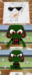 caliborn comic crossover dirk_strider lemonsnoutwasframed sgt_frog