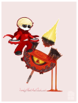 chibi dave_strider godtier hephaestus kiwiuccu knight land_of_heat_and_clockwork solo time_aspect timetables