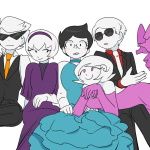 aloesirm cottoncandy dave_strider dirk_strider jane_strider light_and_fluffy minute_maid rose_lalonde roxy_lalonde strilondes twitter