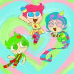 crossover jake_english jane_crocker mamakanaya powerpuff_girls roxy_lalonde trickster_mode