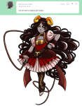 alienfirst aradia_megido fashion kanayas_beauty_salon magicastuck_(au) request solo whip
