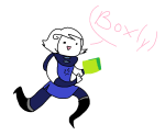 cotton-flurry godtier no_mask perfectly_generic_object rogue roxy_lalonde solo void_aspect word_balloon