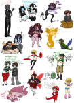 animalstuck aradia_megido aradiabot arms_crossed art_dump beverage blackrom blood blush chubstuck cocktail_glass dave_strider davesprite dd draconian_dignitary fashion feferi_peixes food gamzee_makara glasses_added godtier gore hat honk iron_maiden jake_english kanaya_maryam karkat_vantas lusus musclestuck nepeta_leijon no_glasses no_hat no_shirt pajamas queen's_ring rainbow_drinker roxy_lalonde shipping smoking sprite squidbiscuit swimsuit tavros_nitram teaser_toy thought_balloon timetables tinkerbull wings_only word_balloon