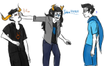 ? blush con_heir deleted_source dream_ghost john_egbert partyroxy redrom shipping tavros_nitram text vriska_serket