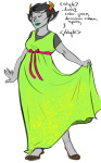 kanaya's_green_dress kanaya_maryam myluckyseven solo