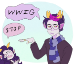 eridan_ampora feferi_peixes meme reef text word_balloon