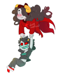 aradia_megido dongoverload godtier legal_ramifications maid midair no_glasses palerom shipping terezi_pyrope time_aspect transparent