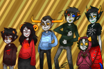 aradia_megido blood_aspect breath_aspect doom_aspect eggtoburgologist heart_aspect kanaya_maryam karkat_vantas nepeta_leijon sollux_captor space_aspect tavros_nitram time_aspect