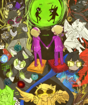 aradia_megido beat_mesa bec_noir beta_kids blind_sollux blood crying dave_strider davesprite dogtier dreamself gamzee_makara godtier green_sun half_ghost heir holding_hands jack_noir jade_harley jadesprite john_egbert kanaya's_red_dress kanaya_maryam karkat_vantas liv_tyler maid nymphicus planets pm prospitian_monarch psionics rainbow_drinker red_miles rose_lalonde serenity sober_gamzee sollux_captor spongebob_squarepants sprite witch