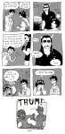 ask comic crossdressing equius_zahhak john_egbert karkat_vantas raakelh saucy_maid_outfit text word_balloon