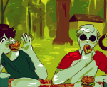 dave_strider food john_egbert private_source red_baseball_tee trees yt