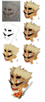 artist-in-training dirk_strider flowers headshot solo unbreakable_katana wip