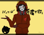 admantist aspect_symbol blood_aspect crossover dancestors facepaint kankri_vantas language:japanese matryoshka non_canon_design solo translation_request vocaloid