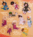 all_kids alpha_kids animal_ears beta_kids blood breath_aspect casey crossover dave_strider davesprite decapitation dirk_strider dogtier dreamself fedora godtier hat hb hegemonic_brute heir holding_hands jade_harley jake_english jane_crocker john_egbert kigurumi lil_sebastian liv_tyler my_little_pony nymphicus rainbow_dash redrom rose_lalonde roxy_lalonde royal_deringer shipping skulltop sleeping space_aspect sprite starter_outfit thunderbirds unbreakable_katana wise_guy_slime_suit witch word_balloon yarn
