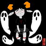 aradia_megido dead_aradia entou ghosts huge midair solo transparent