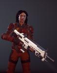 3d crossover gun jade_harley petrosyanengeniy solo xcom