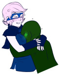 blush calliope godtier hug maim redrom rogue roxy_lalonde shipping snake_wine void_aspect