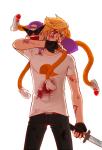 blackoutballad blood dirk_strider kid_symbol lil_cal nosebleed unbreakable_katana