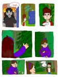 ! aradia_megido artist_needed comic coraline crossover doctor_who gravity_falls laika paranorman source_needed trees