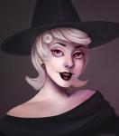halloweenstuck hat headshot roxy_lalonde solo yourheadcanon