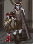 bromance cladomasochist crossover discworld equius_zahhak helmet law_and_order terezi_pyrope