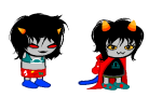 clothingswap dragon_cape image_manipulation lovelylilkitten nepeta_leijon no_glasses scratch_and_sniff shipping sleepystuck sprite_mode terezi_pyrope