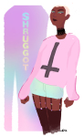 alternate_hair casual crowry fashion pastel_goth rose_lalonde solo