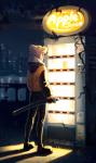 apple_juice dirk_strider m-arci-a solo text unbreakable_katana weapon