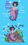 au comic eridan_ampora fanoffspring merfolk mpreg squidbiscuit underwater