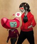cousin crossover heart namco_high namco_high_hoodie redandblacktac redrom shipping terezi_pyrope word_balloon
