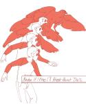 animalstuck animorphs crossover crows dave_strider honeywizard parody red_baseball_tee solo