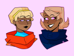 godtier headshot light_aspect rose_lalonde rouge roxy_lalonde sarcasmprodigy seer void_aspect