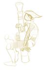 adventureisyou aimless_renegade ar bazooka sketch solo