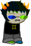 alternate_hair freckles image_manipulation native_source proxykitkat sollux_captor solo sprite_mode